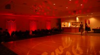Sweet 16 red and star themed