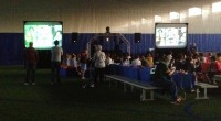 Picture show show on video projection screens