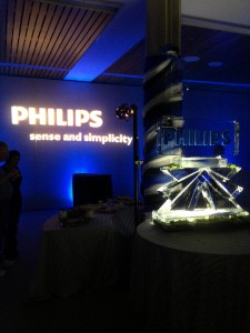 Corporate Monogram Gobo Projection for Philips Medical