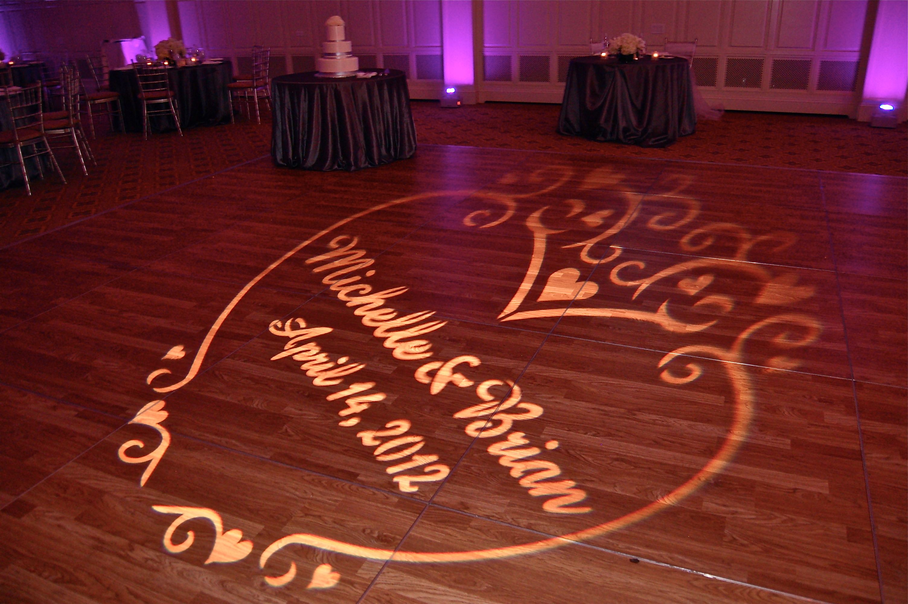 pin hot mitzvah theme light gobo hollywood design sweet lights bat pink lighting