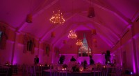 Beautiful uplighting at the Renaissance Gold Club in Haverhill Massachusetts