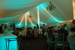 Transform your tent wedding to wow your guest.