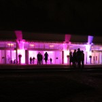 Dj Greg, uplighting, and gobo projection, belle mer newport ri wedding, newport uplighting